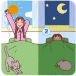 昼夜逆転の睡眠障害を無理やり改善する方法